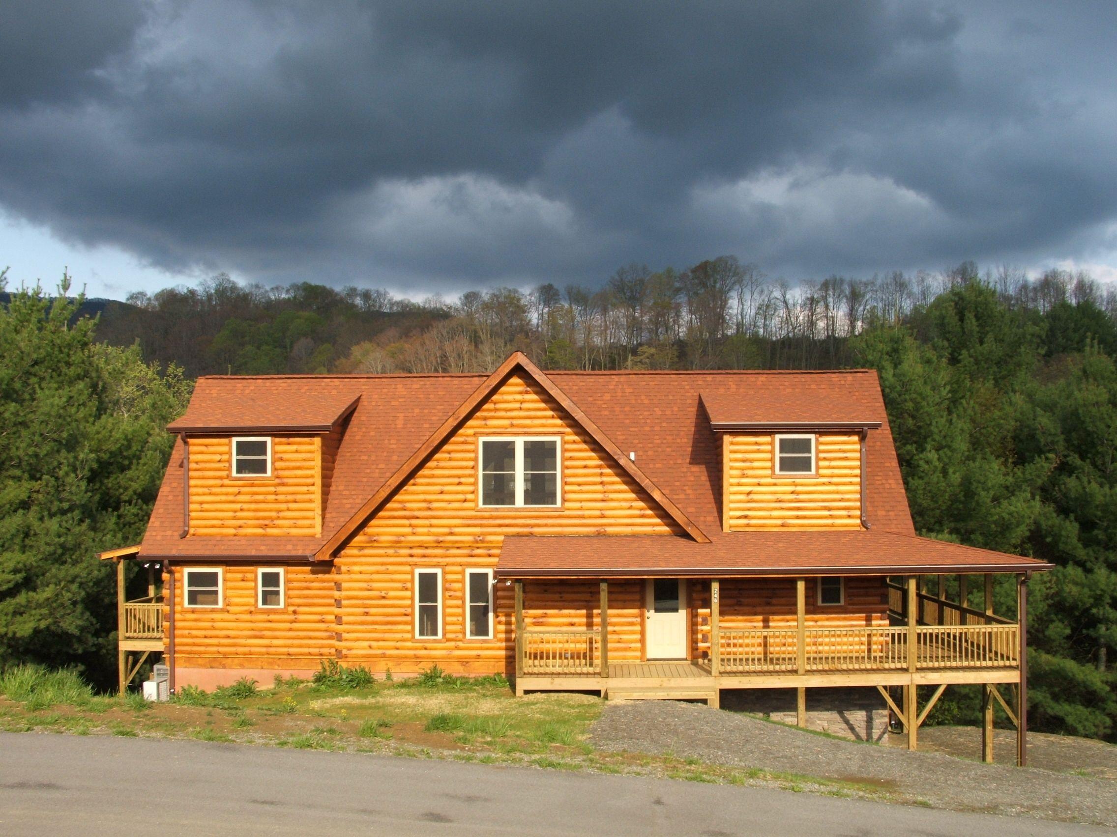 Jocassee Cabin Series designed by Blue Ridge Log Cabins jocassee