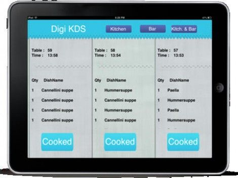 Digi KDS is a kitchen display system app for Resto POS. Digi KDS ...