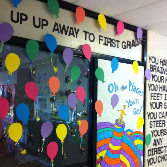 Kinder graduation door idea work pinterest doors - Kindergarten graduation decorations ...