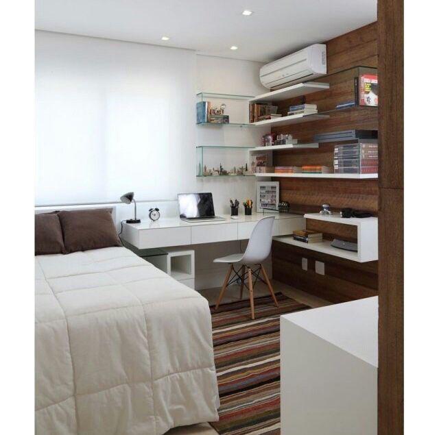 Perfecto para un dormitorio peque o dise o interiores - Diseno de interiores dormitorios pequenos ...