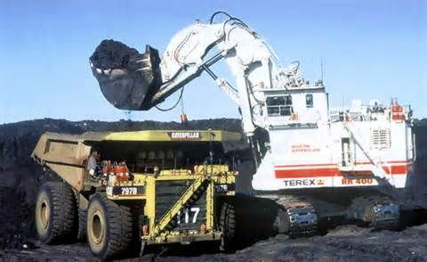 Biggest Excavator In The World Heavy Equipment Heavy Machinery Earth Moving Equipment