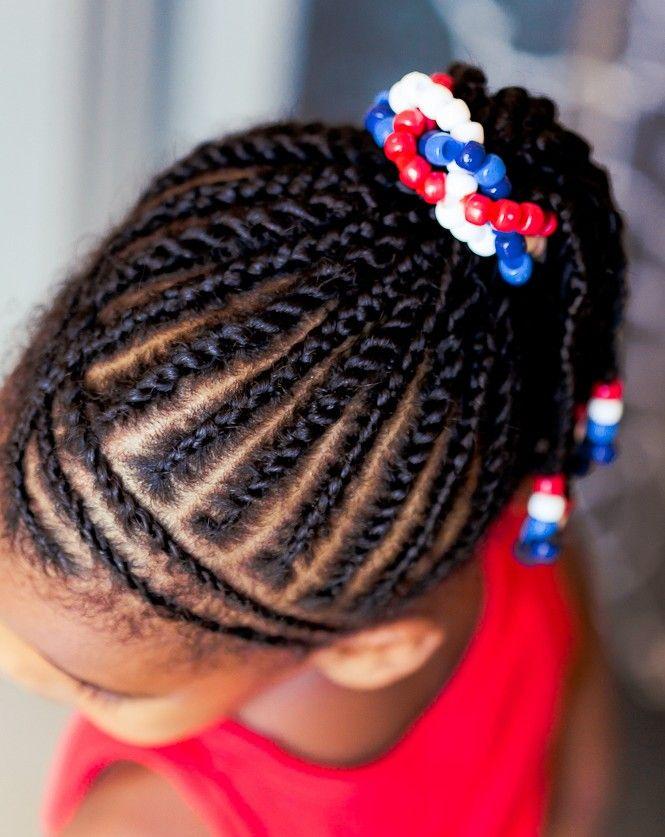 Patriotic Hairstyles For Black Kids Summer 2015 Kids