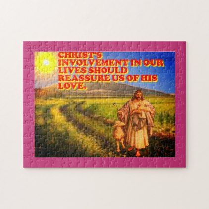 Christs Involvement In Our Lives Jigsaw Puzzle Home Decor Design