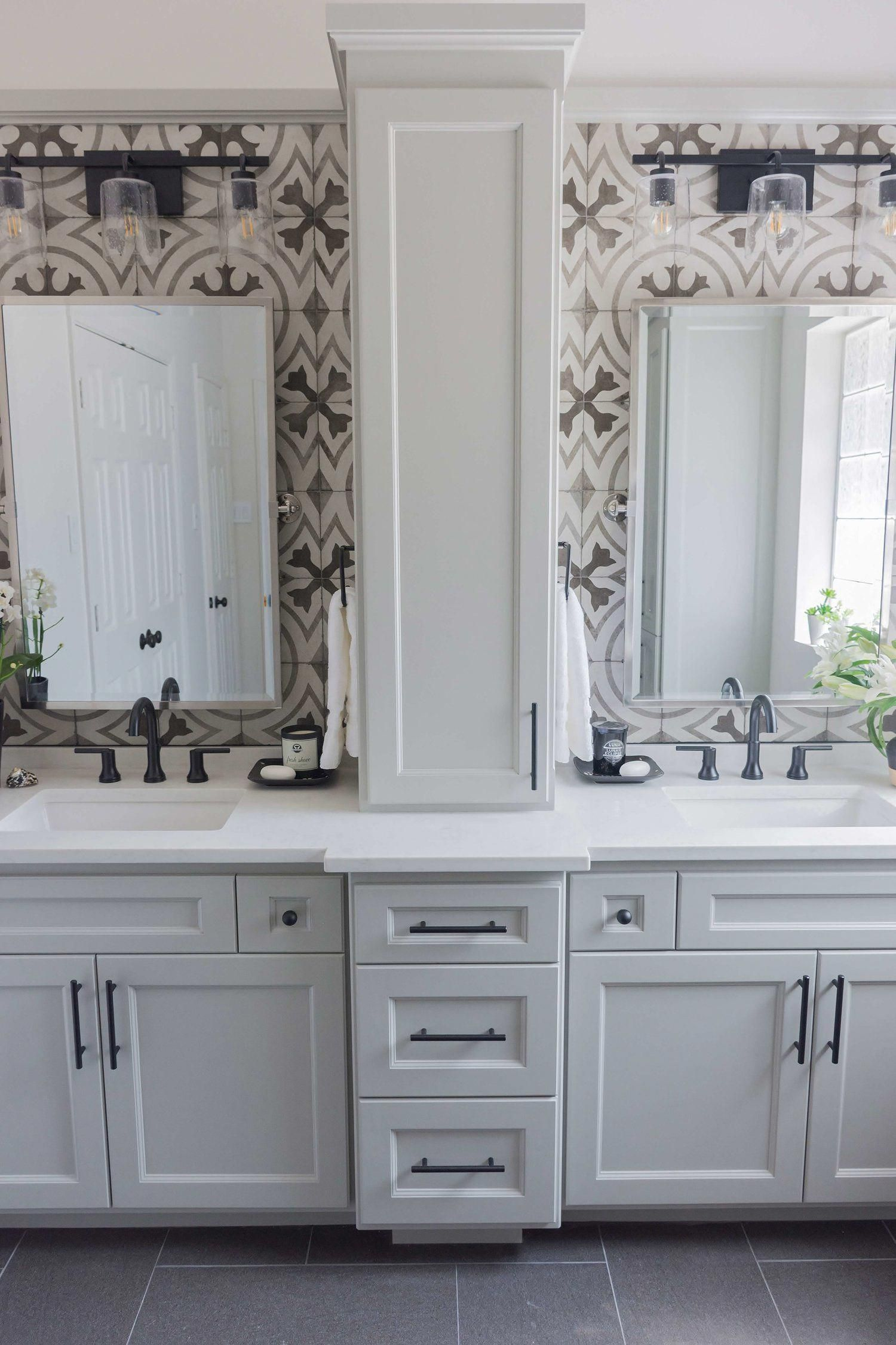 √ 45+ Bathroom Cabinets Ideas With Style Trendy | Bathroom Cabinet