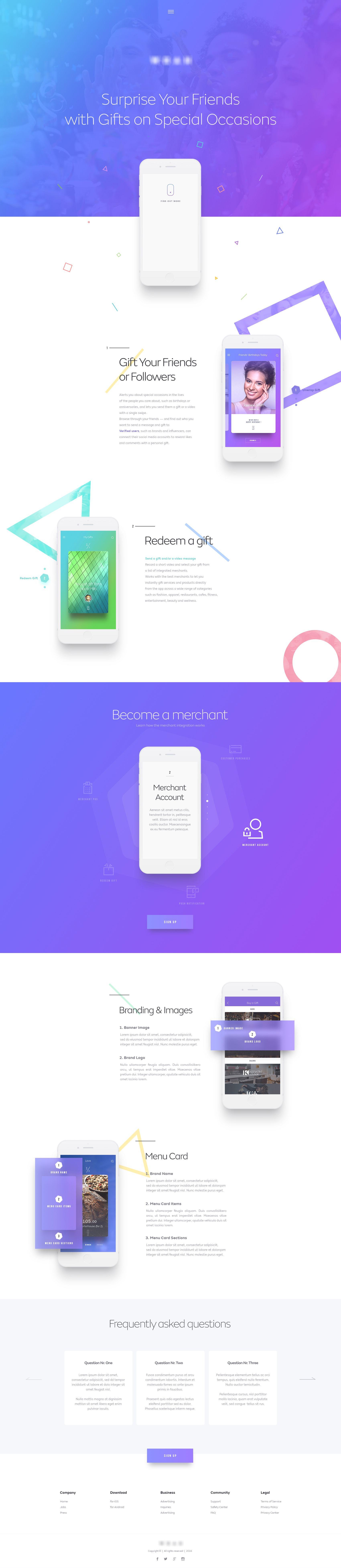 Landing Page Full Web App Design Web Design Company Website Design
