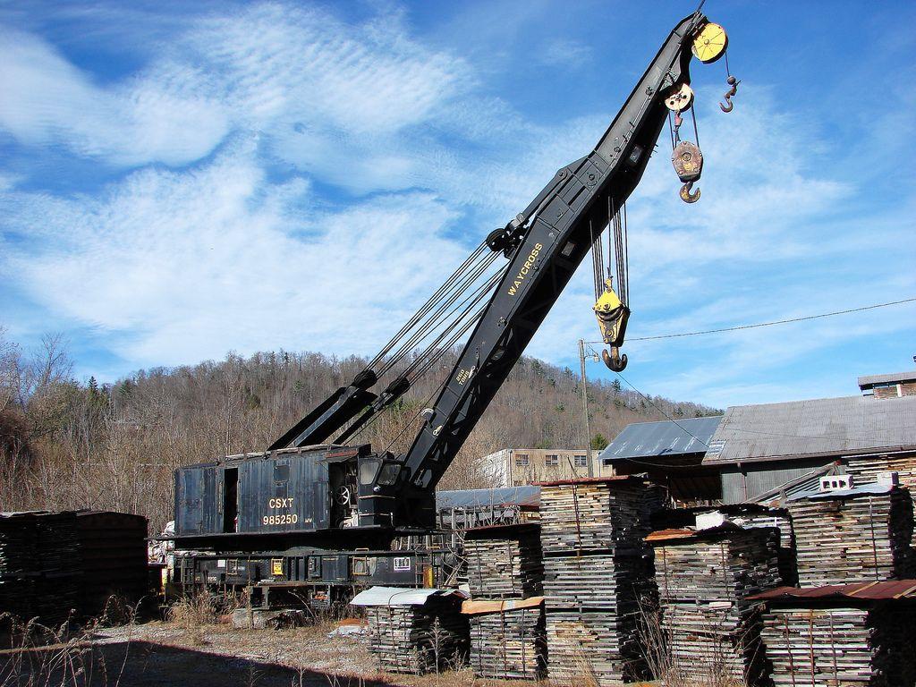 Csx 250 Ton Railroad Crane Usa