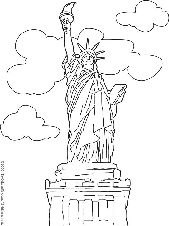 Statute New York Free Coloring Pages Coloring Pages Inspirational Bird Coloring Pages