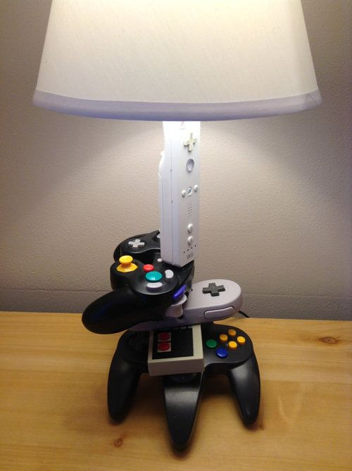 Game Controller Lamp Nice Lamp Kids Room Paint Gamer Bedroom