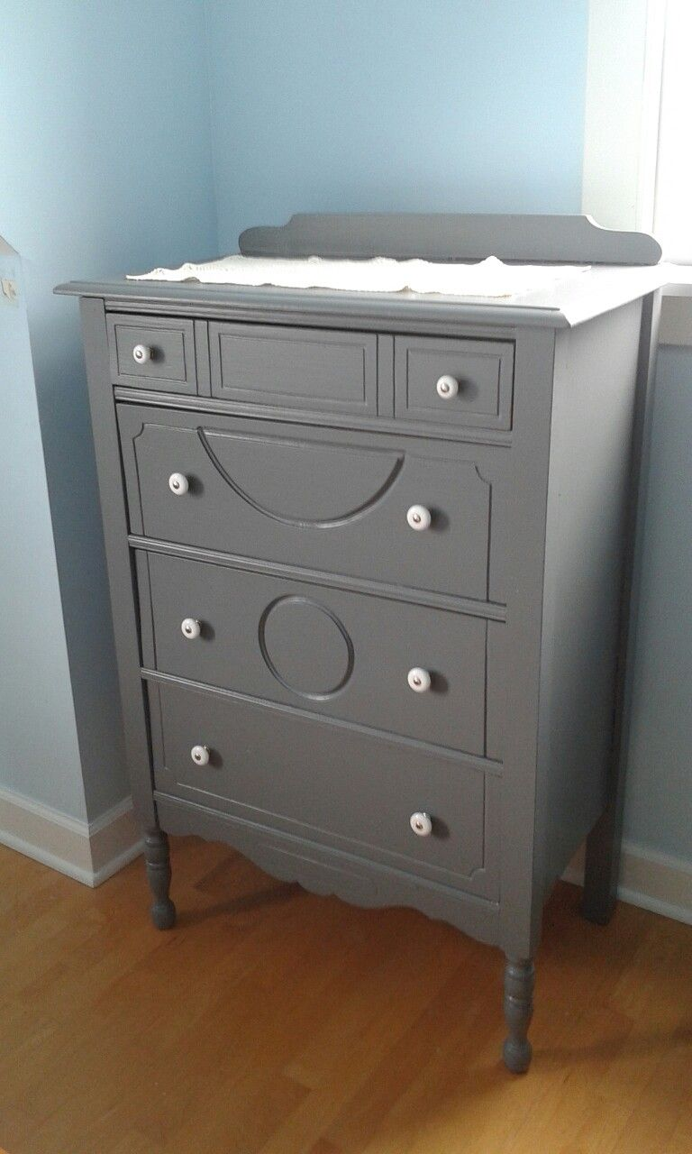 Painted With Behr Antique Tin In