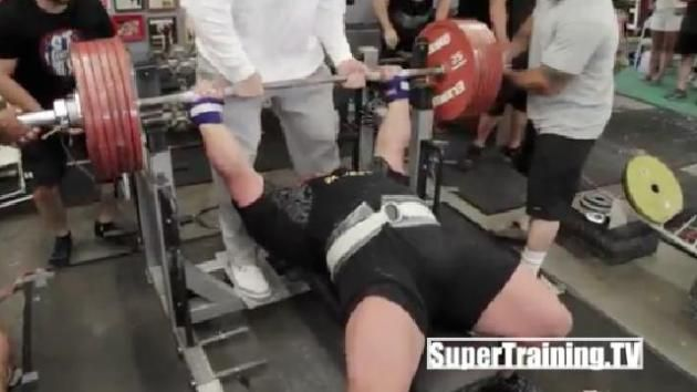 Eric Spoto Breaks Bench Pressing World Record Bench Press World Records Powerlifting