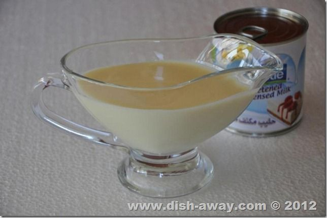 Preparing sweetened condensed milk at home is very easy and