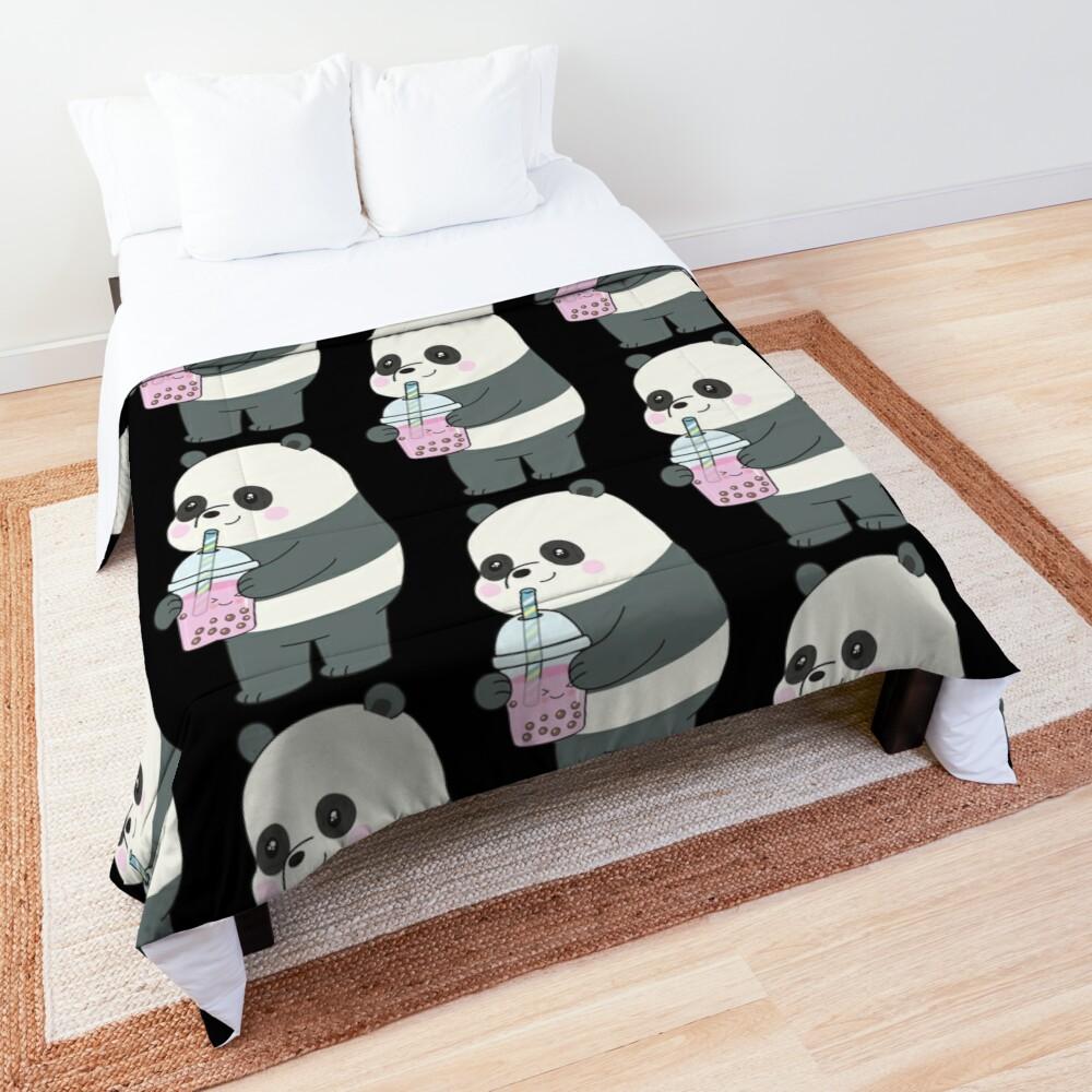 Panda Comforter By Plushism In 2020 College Dorm Room Bedding Comforters Panda