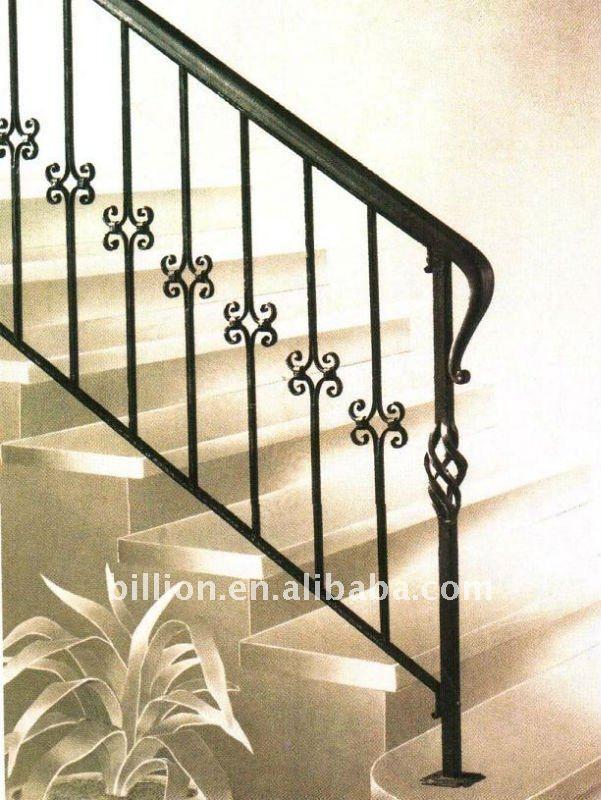 Baranda de escalera buscar con google escalera pinterest hierro forjado hierro y - Barandas de hierro modernas ...