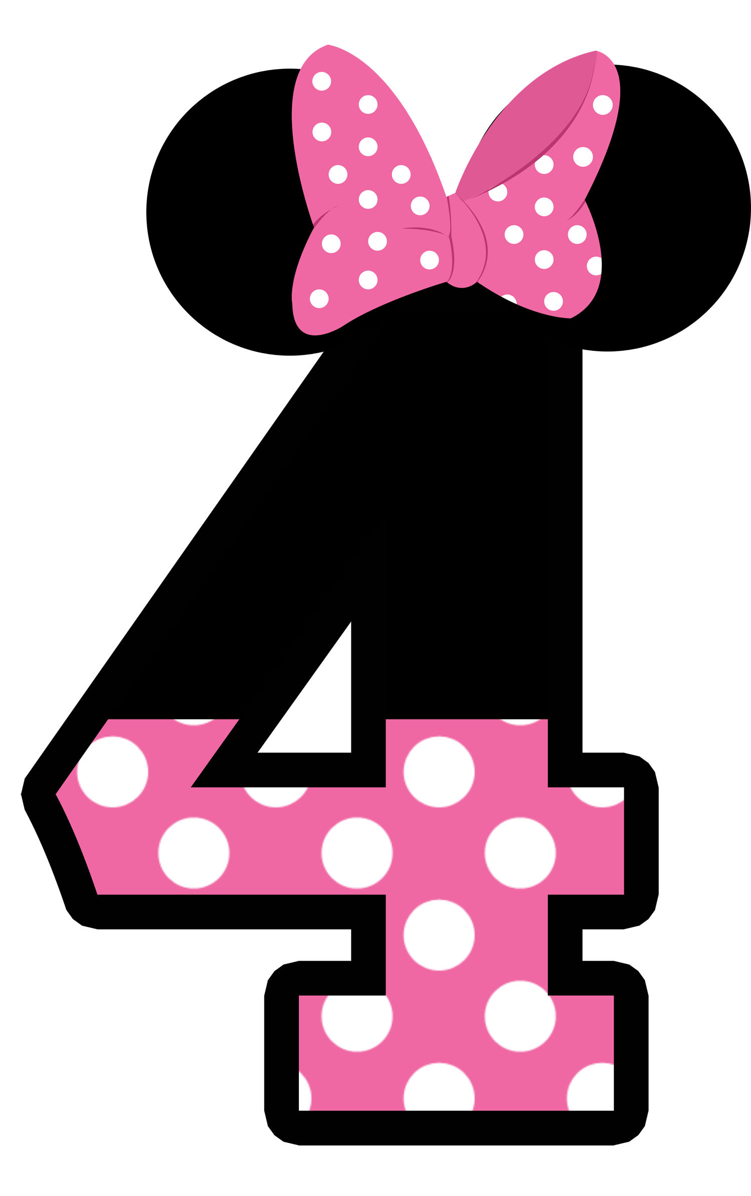 Cat Minnie Pink And Red 22 Png Minnie Mouse Template Minnie Mouse Pink Minnie Mouse Birthday