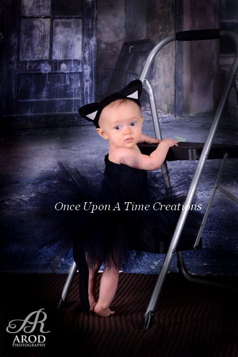 Black Cat Tutu Outfit Spooky Kitty Photo by OnceUponATimeTuTus ...