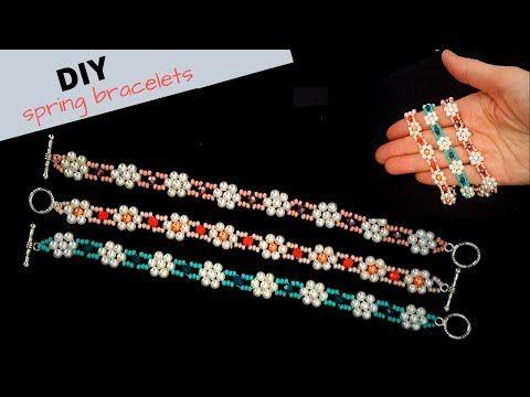 Photo of Beading Tutorial. How to make bracelets. DIY Spring Bracelets.