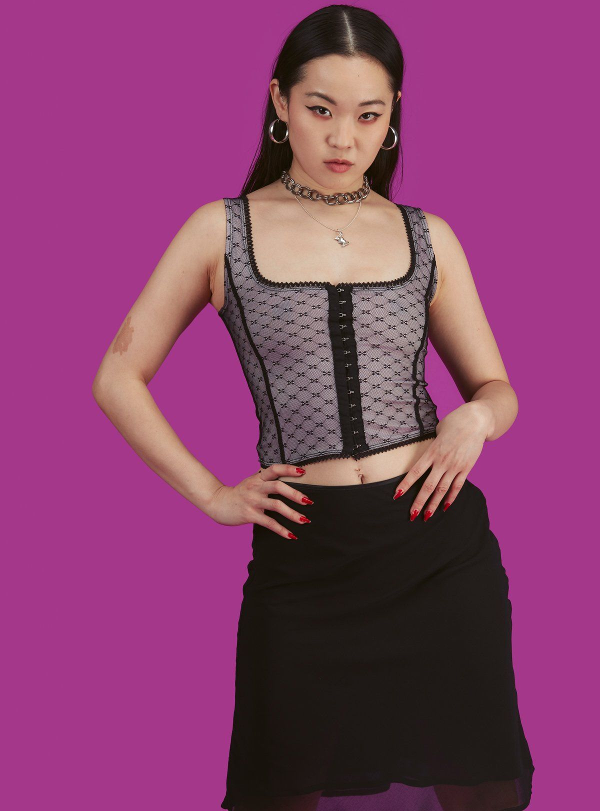 Enchant top in 2020 corset style tops tops aesthetic