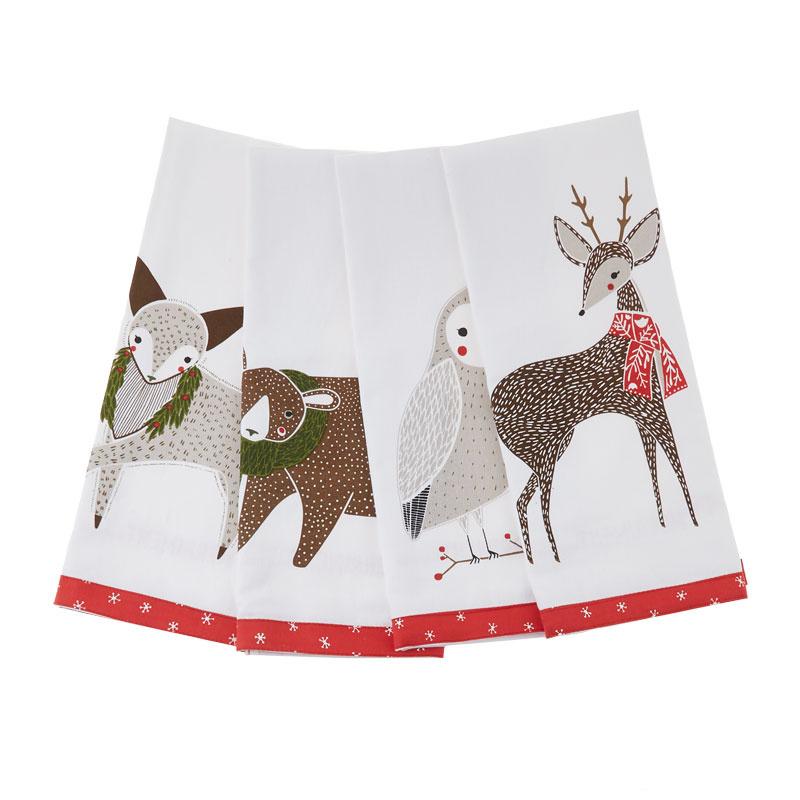 Merriment Tea Towels - Gingiber - Moda Fabrics