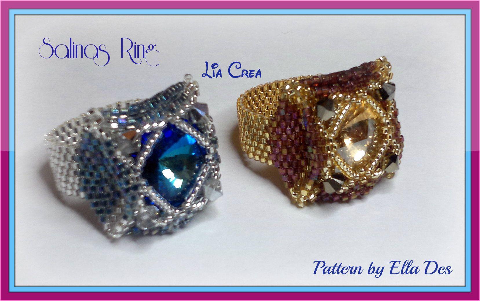 Salinas Ring - pattern by Ella Des