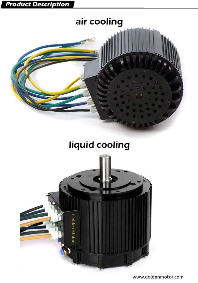 High Efficiency 10kw Brushless Motor for Electric Motorbike