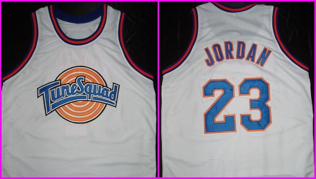 save off 5fbf0 525f9 Michael Jordan Space Jam Tune Squad jersey. $29.99, via Etsy ...