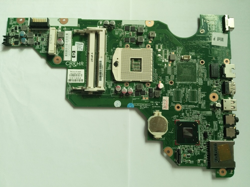 72.00$  Watch here - http://alitow.worldwells.pw/go.php?t=32719192710 - Laptop Motherboard for HP CQ58 650 Intel DDR3 687702-601 687702-001 Mainboard Free Shipping 72.00$