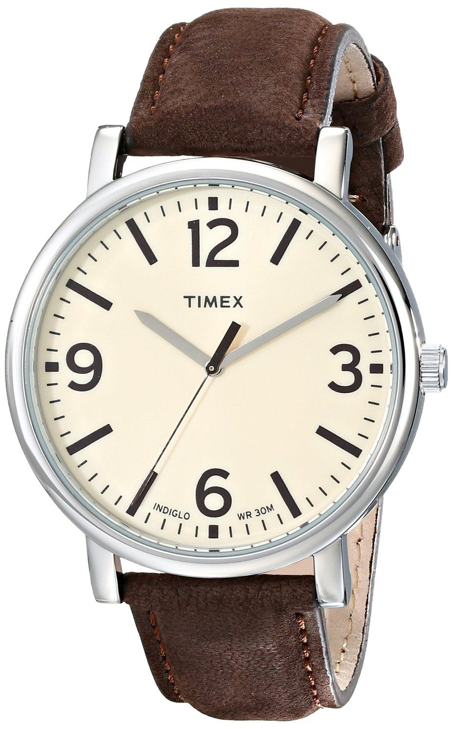 8bd2b20e1eb9 Relojes De Cuero · Timex Unisex T2P526AB Originals Silver-Tone Watch with  Brown Leather Band    You…