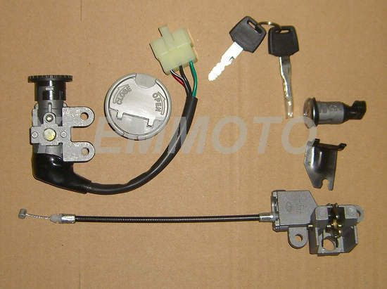 5 Wire Ignition Switch Key Set Sunny 139qmb Gy6 Chinese Scooter Marshin Mamba 50 Chinese Scooters Scooter Scooter Parts