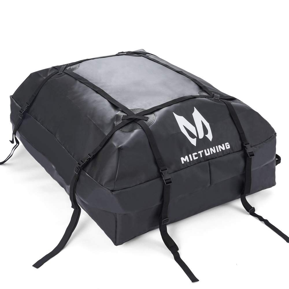 MICTUNING Rooftop Cargo Carrier Bag Waterproof Car Top