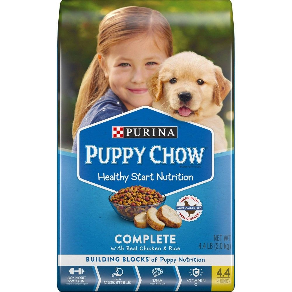 Purina Puppy Chow Complete Dry Dog Food 4 4lbs Size 4 4 Lbs In
