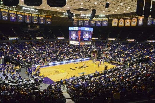 Pete Maravich Assembly Center Lsu Tigers Lsu College Basketball College Sports