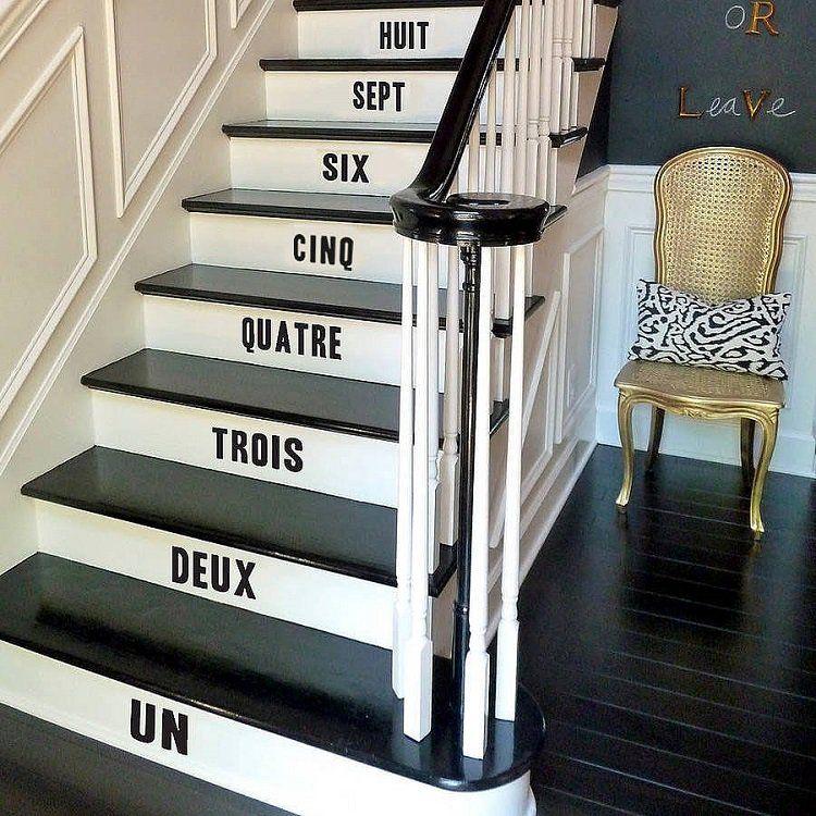 Renovation Escalier Idees Escalier Peint Et Deco Montee D