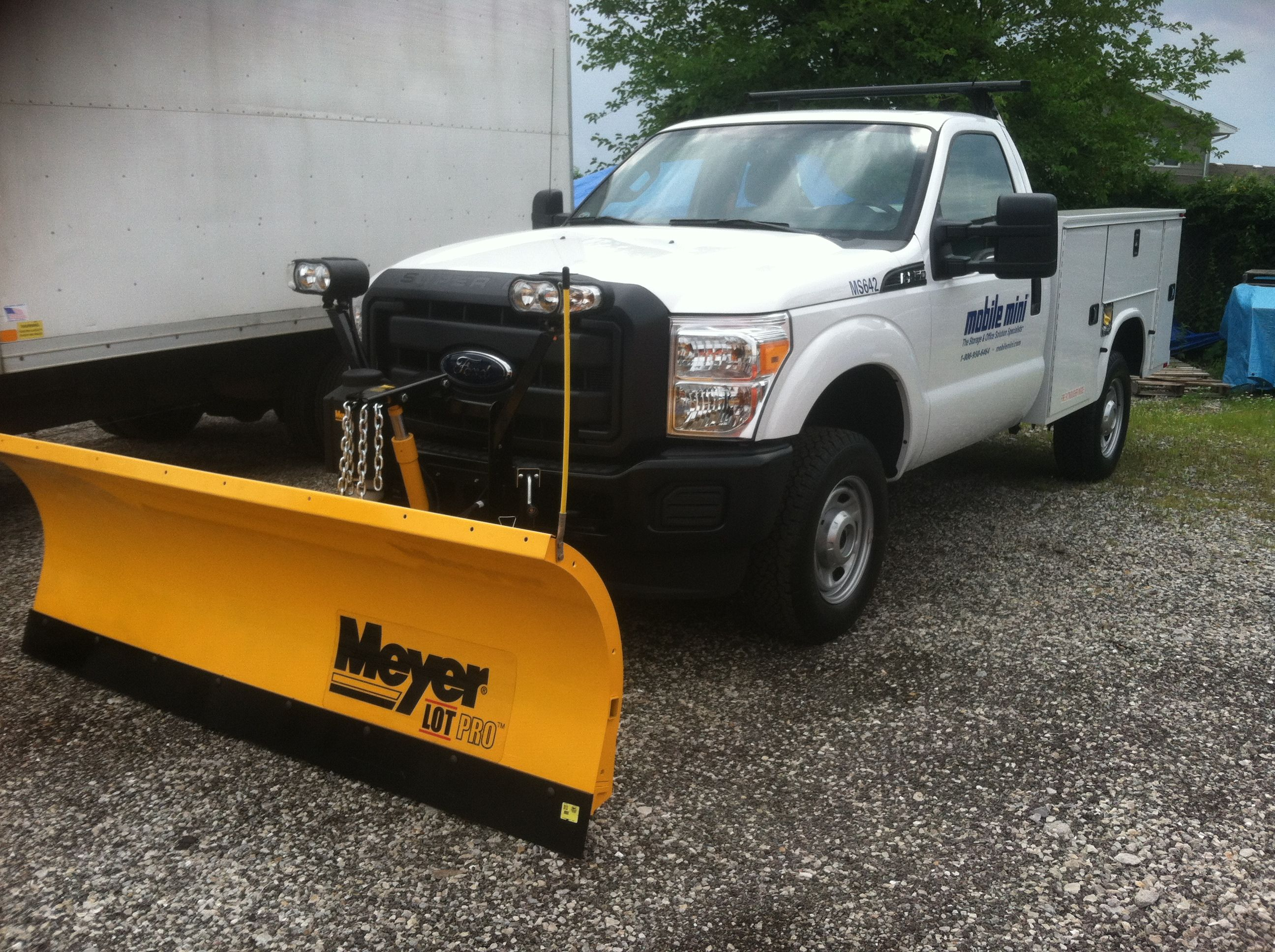Meyer Install Snow Plow Meyer Ice Remover