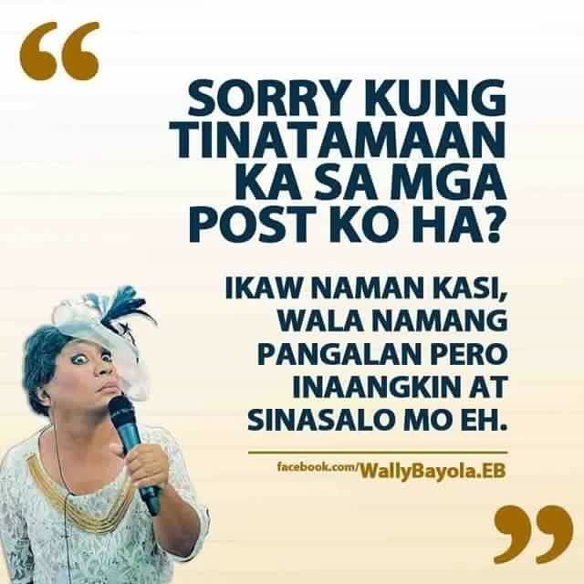 Alulod | Tagalog quotes hugot funny, Work quotes funny ...
