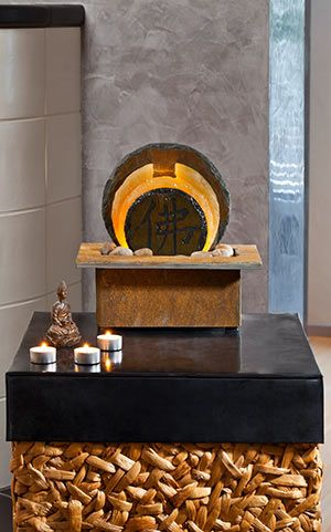 Schieferbrunnen Tian Zimmerbrunnen Buddha Brunnen Und Tischbrunnen