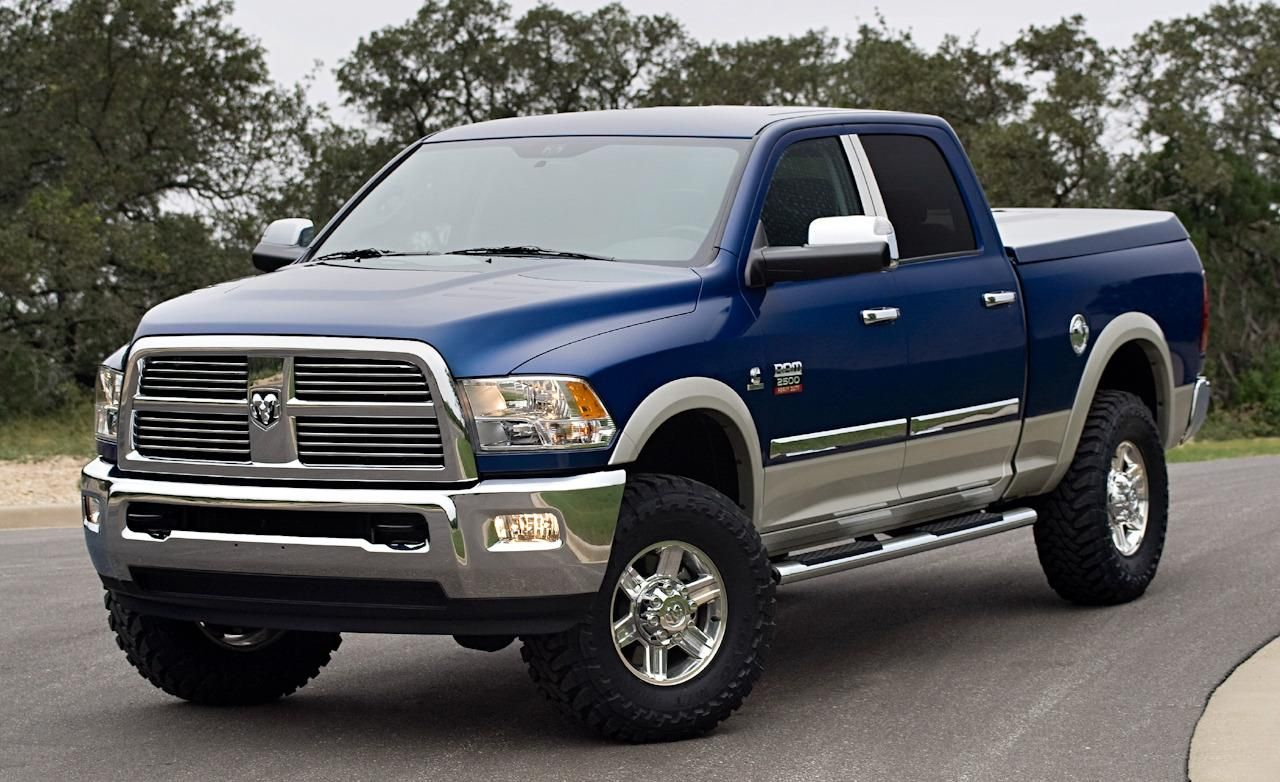 2010 chromed ram 2500 crew cab first drive truck trend