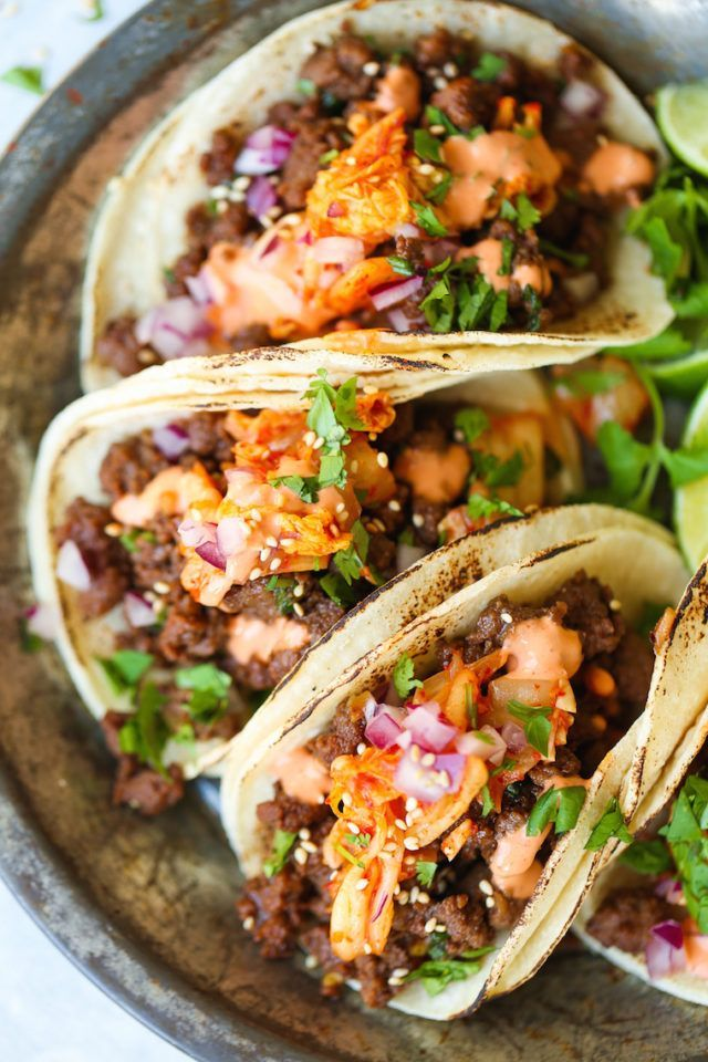 Korean Beef Tacos #tacorecipes