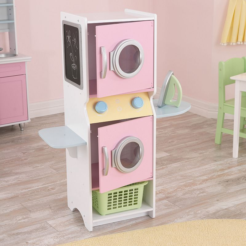 kidkraft laundry play set fun ideas for the kiddos toys diy for kids play houses. Black Bedroom Furniture Sets. Home Design Ideas