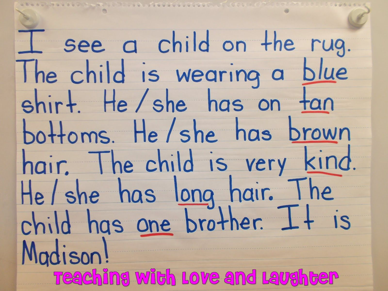 Littles Paragraph Examples For Childrens