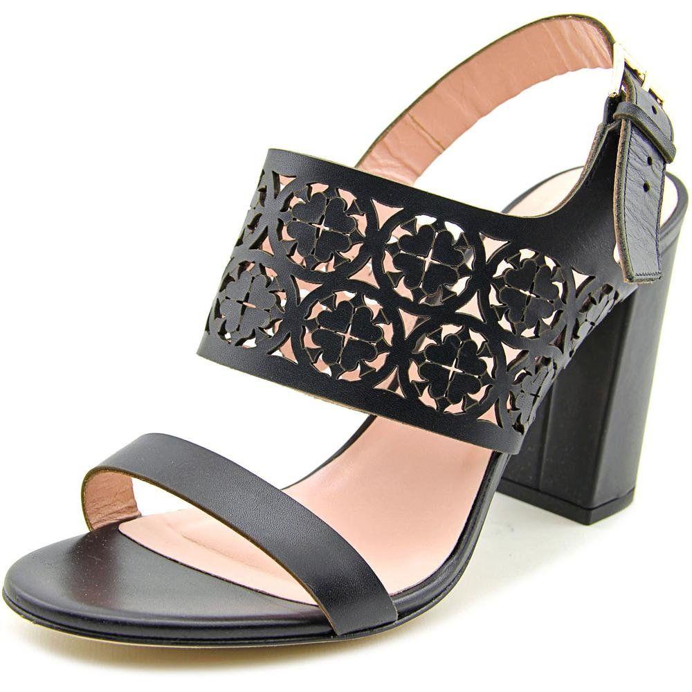 5ba10b6eb10d Kate Spade Imani Women US 9.5 Black Sandals. The style name is Imani ...