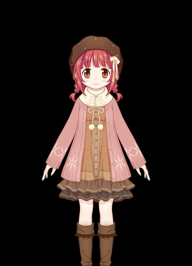 File Akino Kaede Winter Clothes Png Puella Magi Wiki Magical Girl Anime Anime Puella Magi Madoka Magica