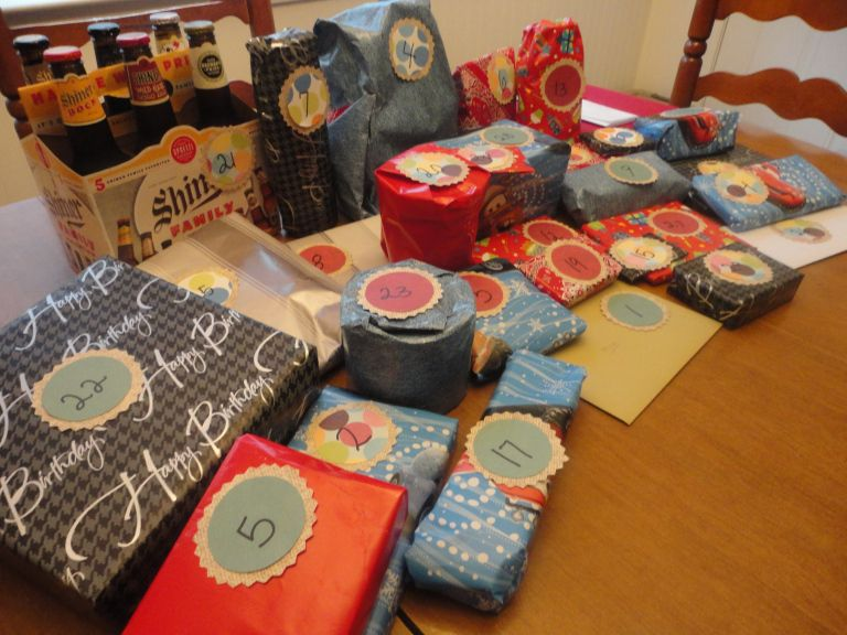 30 presents for 30 years hubby hound home 30th