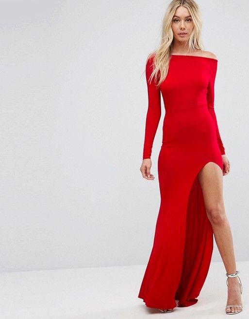 Long Sleeve Open Back Maxi Fishtail Dress My Style Pinterest