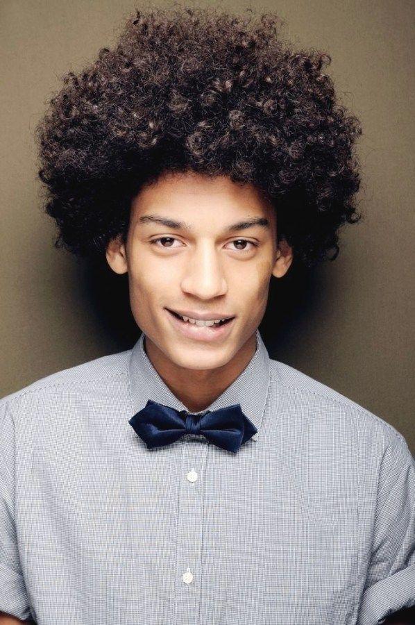 Am Besten Afro Manner Haarschnitt Naturliche Frisuren Lockige Frisuren Unordentliche Frisur
