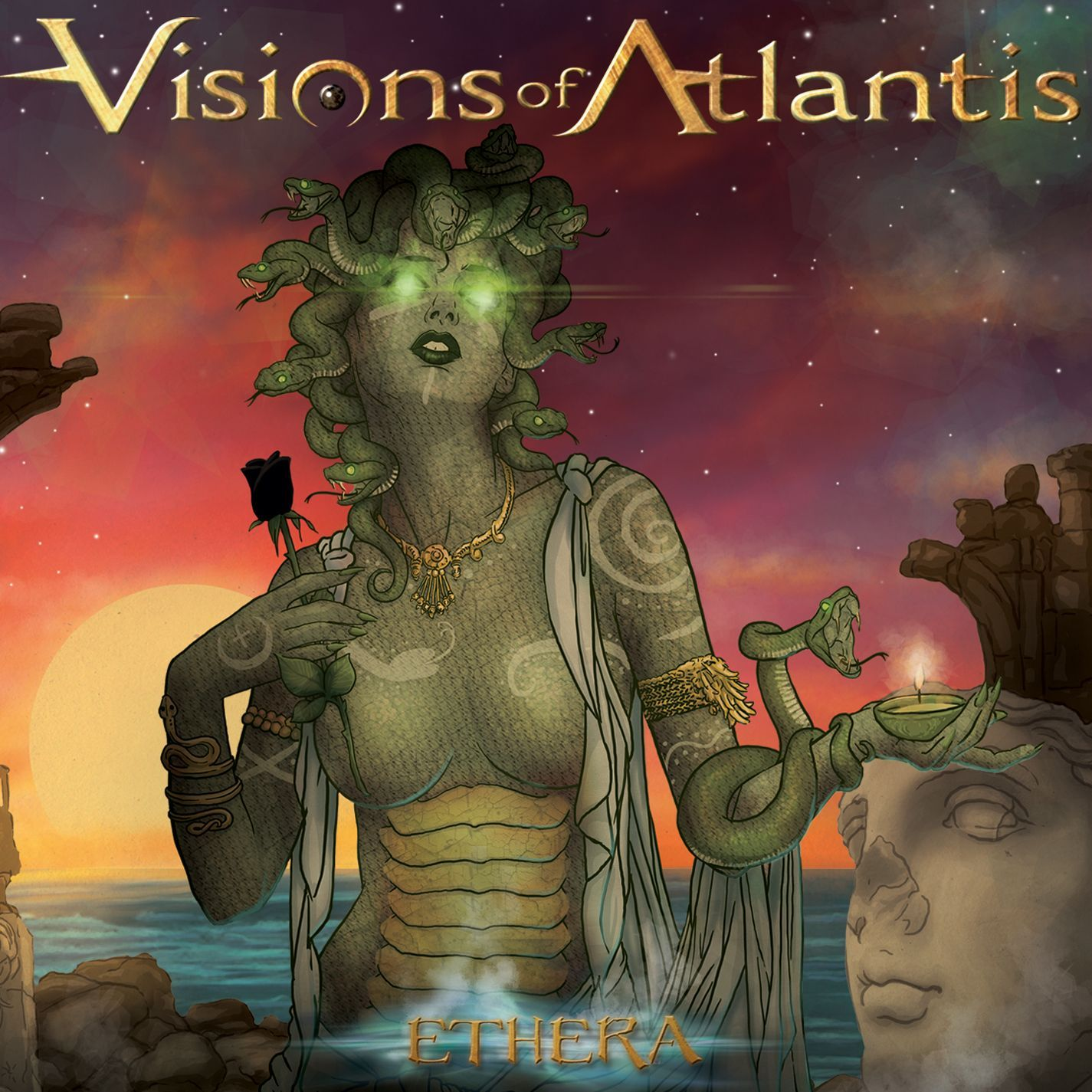 Visions Of Atlantis - Ethera, Grey