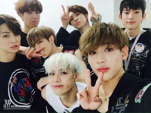 #got7 #jb #jaebum #jackson #bambam #mark #jr #yugyeom #youngjae ♥