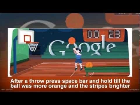 Google Doodle Basket Tutorial Google Doodles Google Doodle Today Doodles
