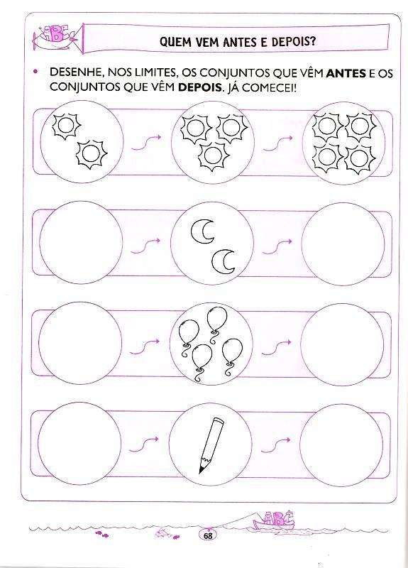 Matematica 5 E 6 Anos 60 Atividades Para Educacao Infantil