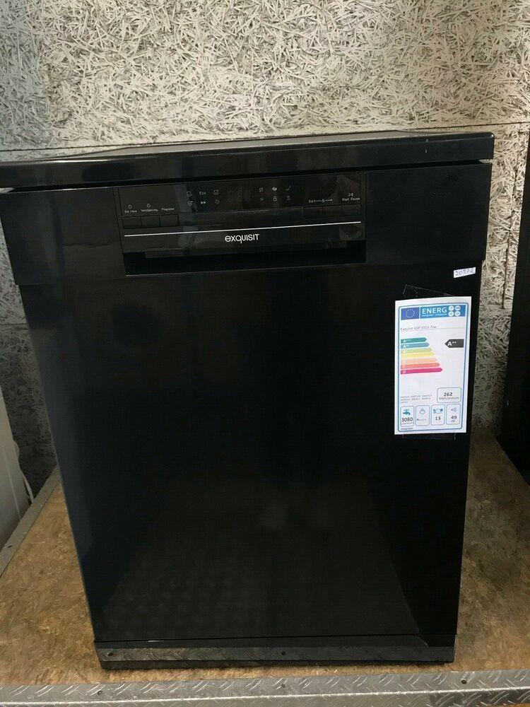 Ebay Sponsored Exquisit Gsp3313 7 Spulmaschine 60cm Schwarz