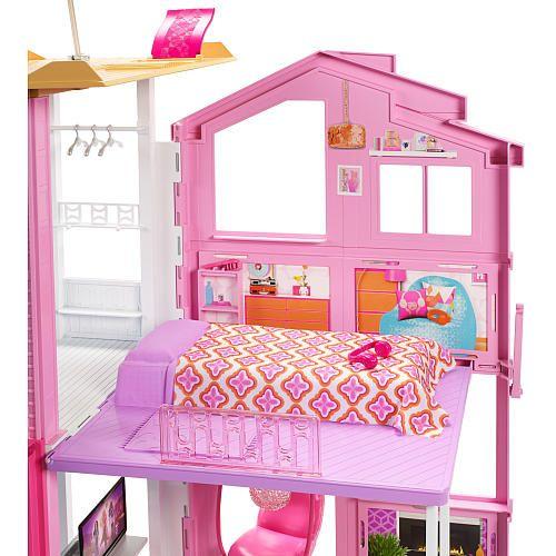 2016 Barbie Pink Passport 3 Story Townhouse Toys R Us Barbie